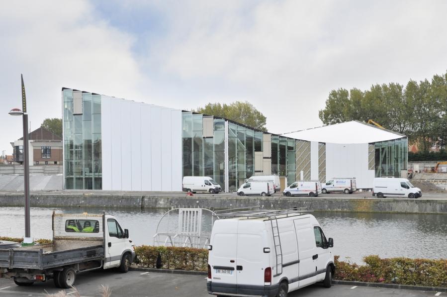 Germain Pluvinage; Bureau face B; Chantier Calais